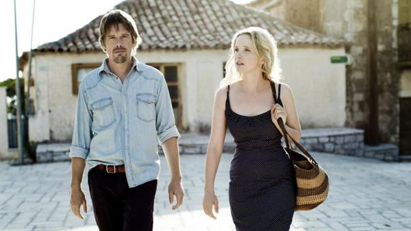 Richard Linklater's <em>Before Midnight</em> is one of many high-profile films set to be shown at this week's Tribeca Film Festival in New York City. (Pictured: Ethan Hawke as Jesse and Julie Delpy as Celine)