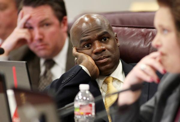 Democrat Kelvin Atkinson represents North Las Vegas in the Nevada Senate.