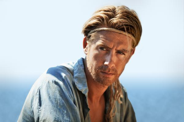 As Heyerdahl, Danish actor Pal Sverre Hagen provides a stern and steady presence throughout <em>Kon-Tiki</em>.