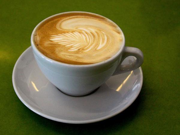A latte at Café de Leche.