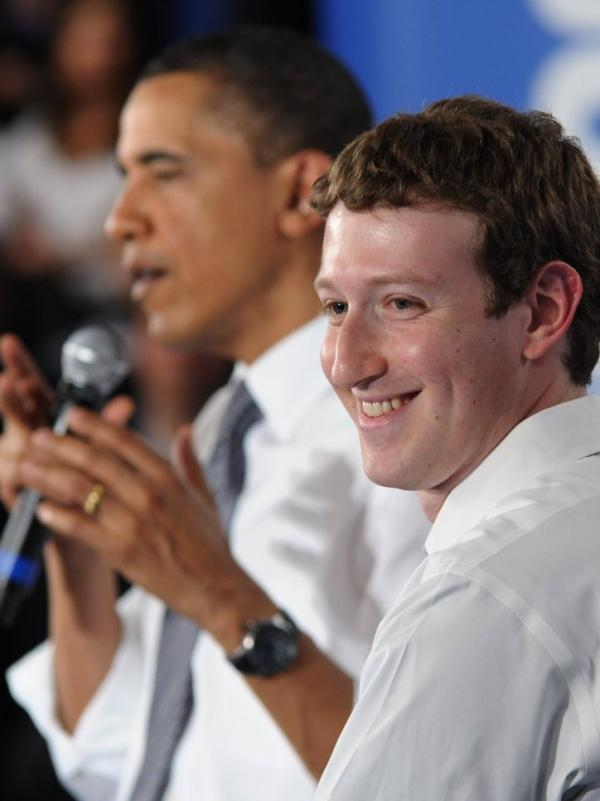 Critics say the blossoming friendship between Zuckerberg and President  Obama, shown together above, could ultimately hurt users of the social networking site.