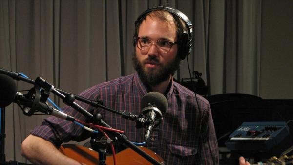 Mark David Ashworth recently performed for WNYC's <em>Spinning on Air</em>.