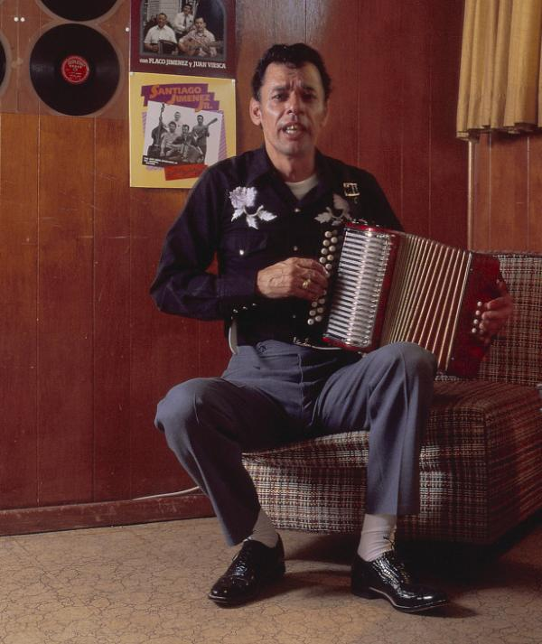 Santiago Jimenez, like his brother Flaco, is a conjunto master.