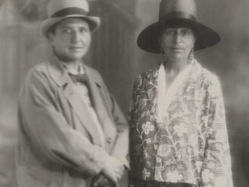 <em>Gertrude Stein and Alice B. Toklas, Aix-les-Bains, France</em>, circa 1927