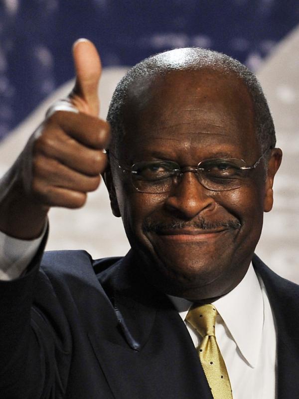 <p>Herman Cain.</p>