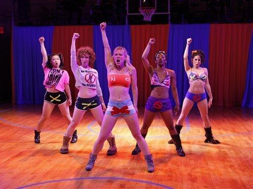 <p>Fans who are tired of the NBA lockout can get some basketball entertainment from a new show, <em>Lysistrata Jones,</em> which opens on Broadway next month.</p>