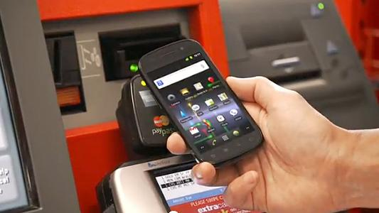<p>A screengrab shows the Google Wallet app being used to pay for items at a CVS store.</p>