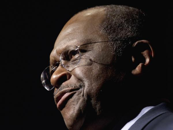 <p>Republican presidential candidate, Herman Cain in Talladega, Ala., on Friday (Oct. 28, 2011).</p>