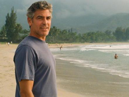 George Clooney in <em>The Descendents </em>