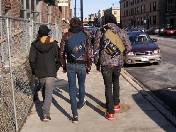 Hipsters like these urban dwellers in the Wicker Park neighborhood of Chicago have now spread to the farthest reaches of small-town America.