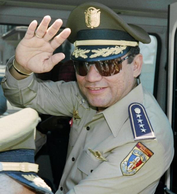 Gen. Manuel Noriega back in the day (August, 1989).