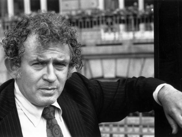 American novelist and journalist Norman Mailer poses for a photo on Oct. 1, 1970.