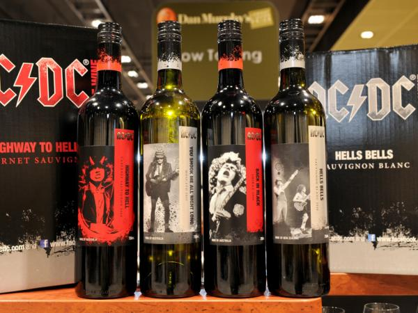 "At the national release of ""AC/DC The Wine"" in Melbourne, varieties included Back in Black Shiraz, Highway to Hell Cabernet Sauvignon and You Shook Me All Night Long Moscato."
