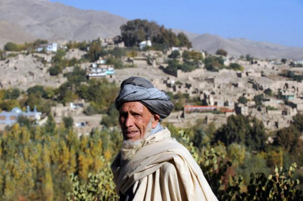 A man in Istalif last year.