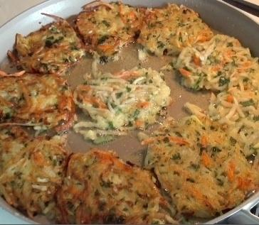 Schmidt's fiesta potato latkes recipe blends Jewish tradition with Mexican flavors.