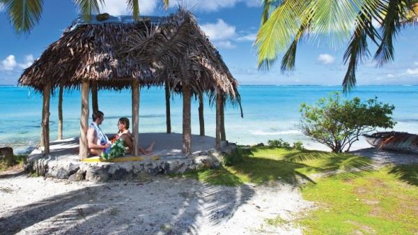 Samoa: Would you argue with getting an extra day in a place like this?