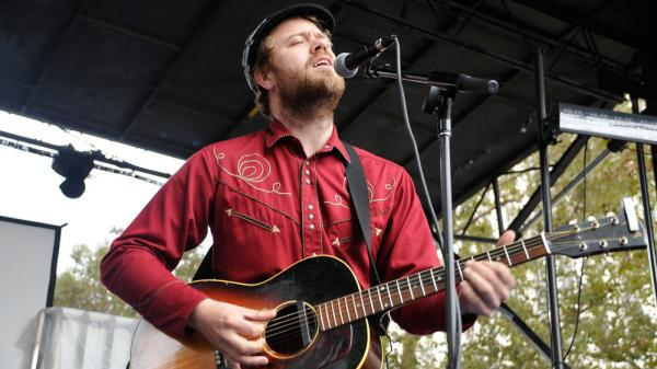 "The Icelandic singer-songwriter Mugison performs in Los Angeles. Mugison had one of the most popular songs in his home country this year with ""Stingum Af."""