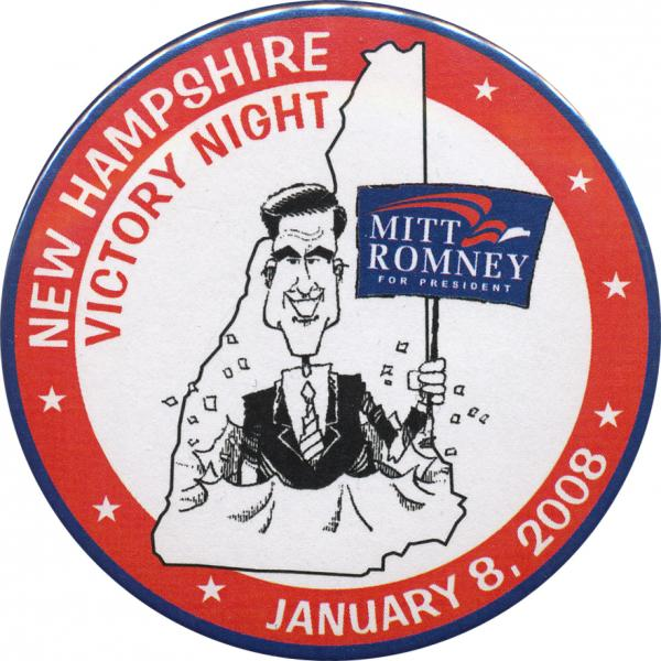 Romney's N.H. victory celebration four years ago was premature.  But it may not be this time.