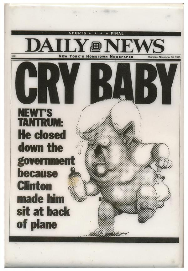 Turning negative may remind voters of the old Gingrich.