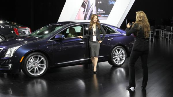 "Detroit Auto Show photographers sometimes mistake car designer Christine Park for a <a href=""http://naias.mediaroom.com/index.php?s=27796&item=17555"">spokesmodel</a>. ""It's a very male-dominated field,"" she says, ""so it's something that people don't expect."""