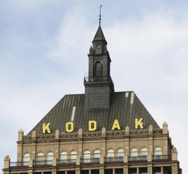 Eastman Kodak Co.'s corporate headquarters in Rochester, N.Y.