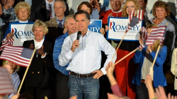 GOP presidential candidate former Massachusetts Gov. Mitt Romney kicks off his Florida campaign with a rally at All-Star Building Materials in Ormond Beach, Fla., Sunday. Romney starts his Florida primary campaigning after having lost to Newt Gingrich in South Carolina on Saturday.