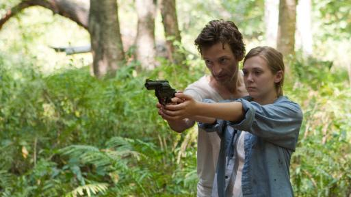 John Hawkes and Elizabeth Olsen in 2011's <em>Martha Marcy May Marlene</em>.