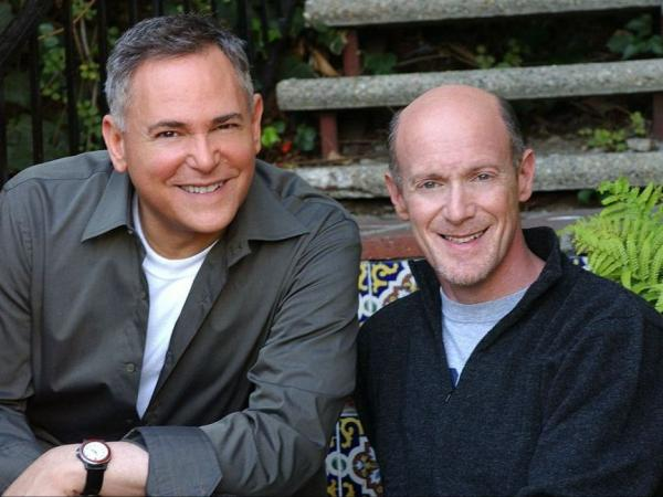 Craig Zadan (left) and Neil Meron's films and TV movies have received six Oscars, five Golden Globes, 11 Emmy Awards and two Peabodys.