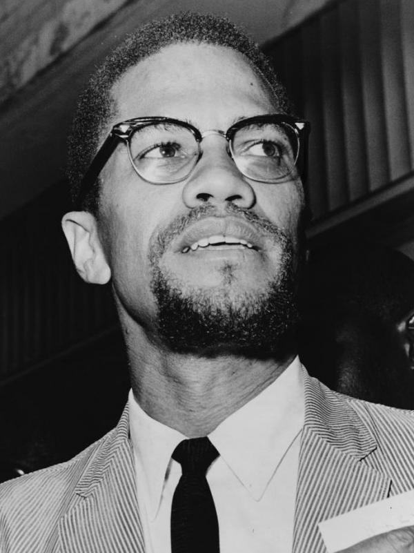 Malcolm X, shown here in 1964, spoke at Brown University in 1961 to defend his views. That speech was recently unearthed in the university archives.