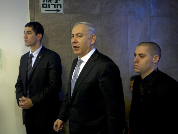 Israeli Prime Minister Benjamin Netanyahu has said often that he will not allow Iran to become a nuclear-armed state. Here he arrives for a Cabinet meeting in Jerusalem on Feb. 5.