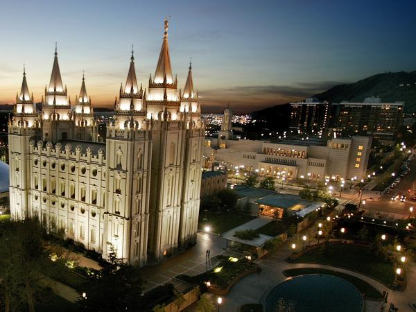 The money Mormons tithe goes to church headquarters in Salt Lake City, and then is distributed to congregations around the world.