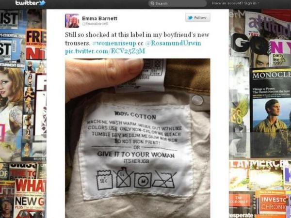 The Twitpic that exposed some dirty laundry.