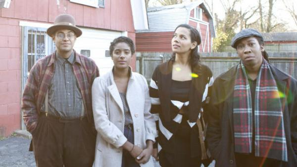 Carolina Chocolate Drops' new album is <em>Leaving Eden</em>.