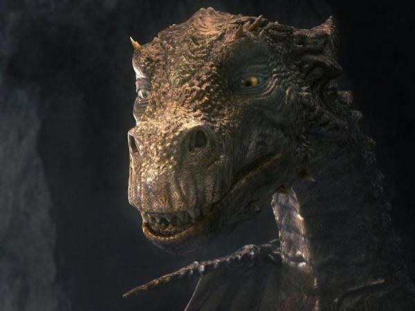 A thousand years old, the dragon Kilgharrah (voiced by veteran actor John Hurt) is both a boon and a bane to Camelot in the BBC series <em>Merlin,</em> which airs in the U.S. on SyFy.