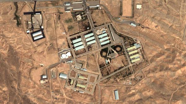 This Aug. 13, 2004, satellite image provided by DigitalGlobe and the Institute for Science and International Security shows the military complex at Parchin, Iran, about 19 miles southeast of Tehran.