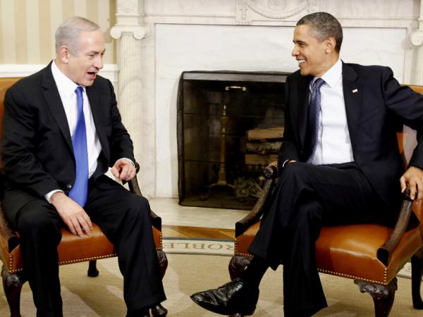 President Obama meets with Israeli Prime Minister Benjamin Netanyahu in the Oval Office at the White House on March 5.