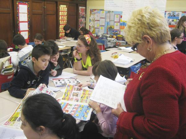 Katherine Moloney, principal of P.S. 100 in Brooklyn, says that evaluating teachers on test scores alone is not enough.