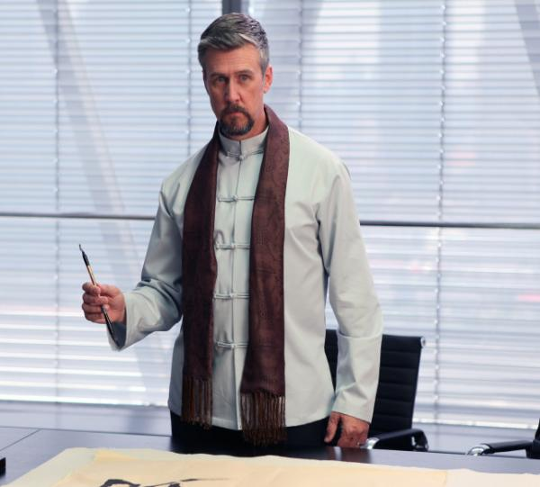 Alan Ruck plays Marcus Groff, a billionaire technology executive from Texas who travels to China in search of a new invention.