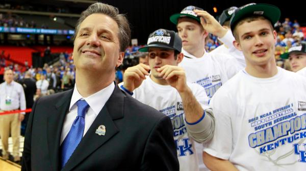 Kentucky coach John Calipari has been criticized as being more of a recruiter than a coach. But that doesn't mean his approach to the game is easy.