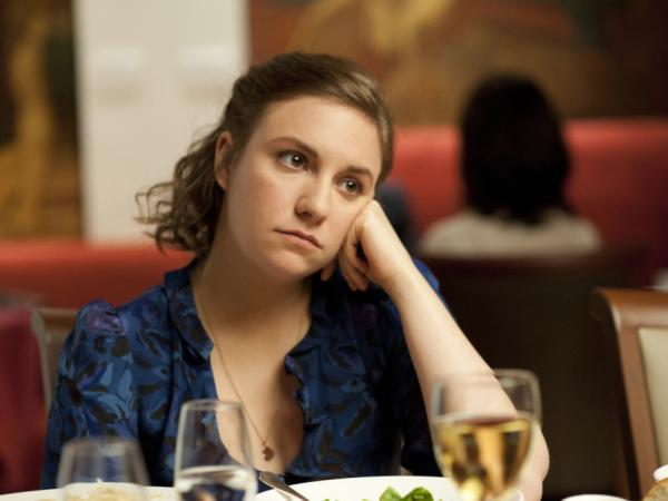 Lena Dunham stars in HBO's new series, <em>Girls</em>, premiering April 15.