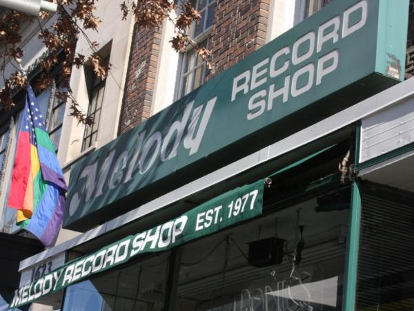 The Melody Records storefront in 2008.