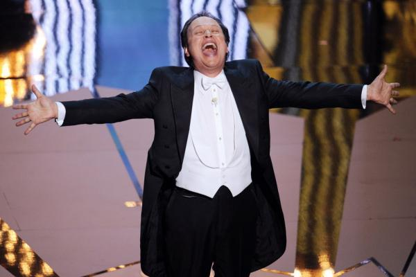 Comedian Billy Crystal opened the 84th Annual Academy Awards with a musical medley introducing the Best Picture nominees. It was Crystal's ninth time hosting the Oscars.