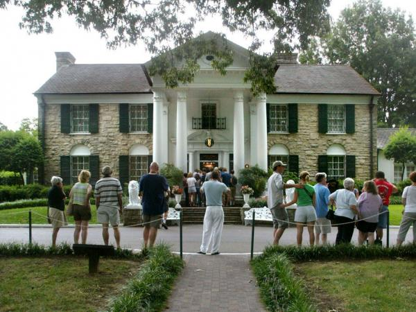 Graceland, home of Elvis Presley, is the second-most visited home in America after the White House.