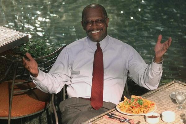Cain was the president of the National Restaurant Association Chicago in 1998. Cain previously has run a pizza chain, hosted a talk radio show and sparred with Bill Clinton over health care.