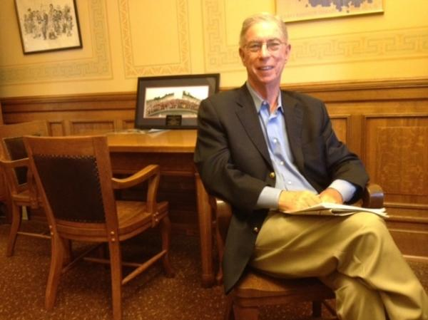 Wisconsin state Sen. Timothy Cullen, a Democrat, in his Capitol office in Madison.