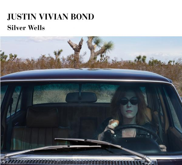 The cover of Justin Vivian Bond's album <em>Silver Wells</em>, on which the cabaret performer uses other people's songs to construct a plotline that echoes the Joan Didion novel <em>Play It As It Lays</em>.