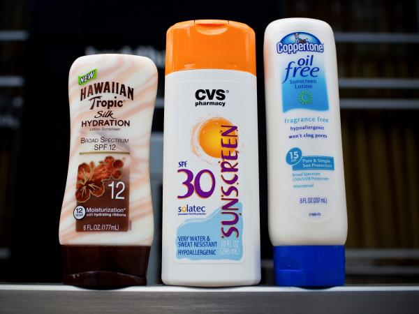 Which one of these sunscreens would be considered safe and correctly labeled by the Food and Drug Administration? Not a single one. Safe sunscreens are SPF15 or higher, and the new rules require those with broad-spectrum protection to include the term next to and in the same style as the sun protection factor.