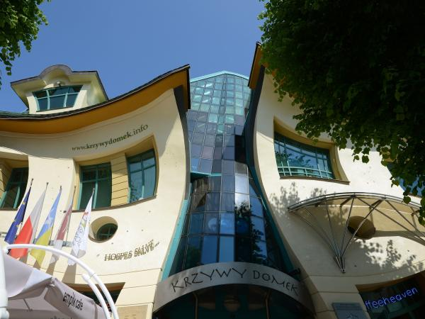 "The ""Crooked House,"" Sopot, Poland"