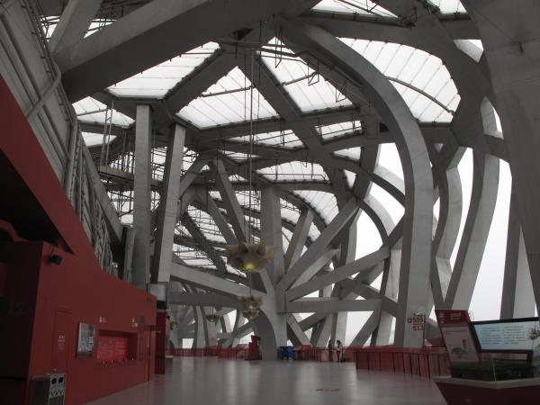 The Bird's Nest, with its cavernous arches, has fewer and fewer visitors these days. Few events can fill a stadium built to seat 91,000.