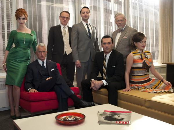 The cast of <em>Mad Men</em>.